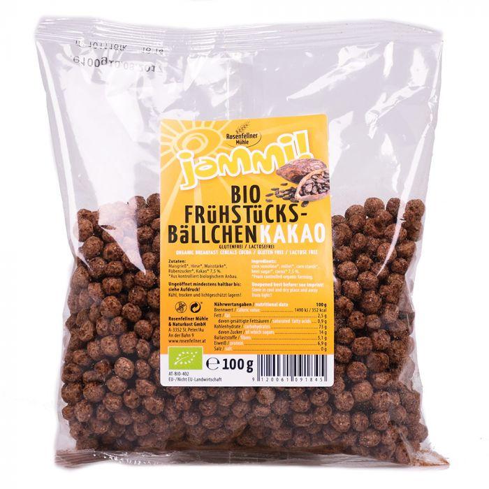 Frühstücksbällchen Kakao