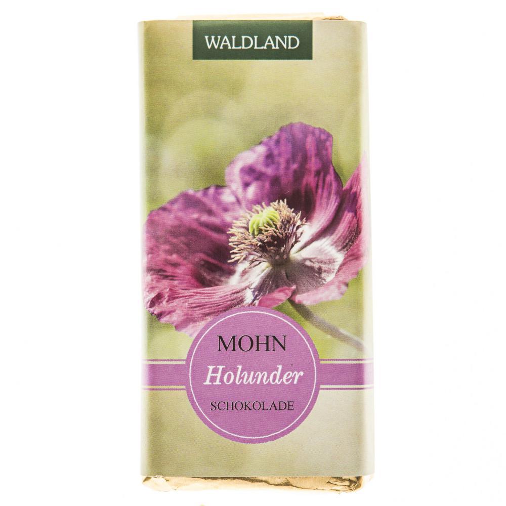 Mohn-Holunder Schokolade