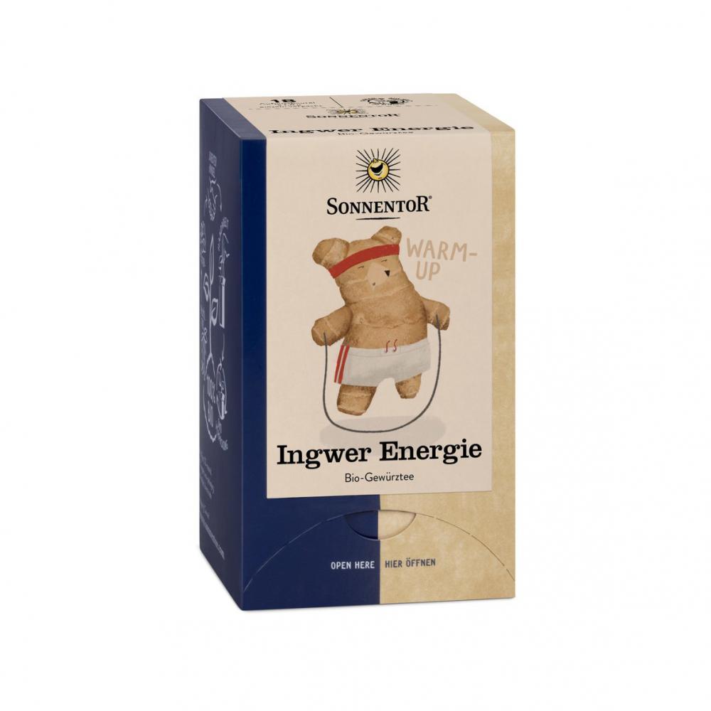 Ingwer Energie Teebeutel