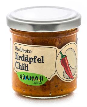 Erdäpfel Chili Pesto