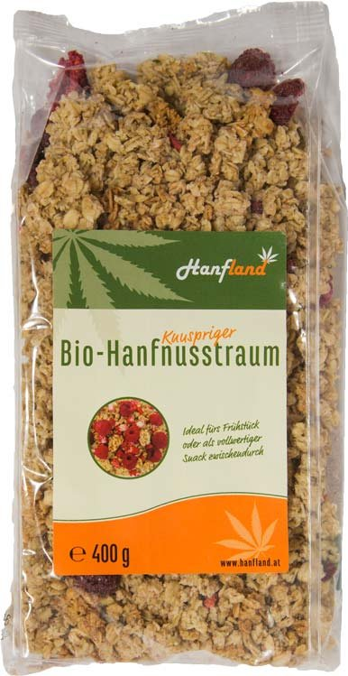 Crunchy Beeren Hanfnusstraum