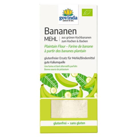 Grünes Bananenmehl