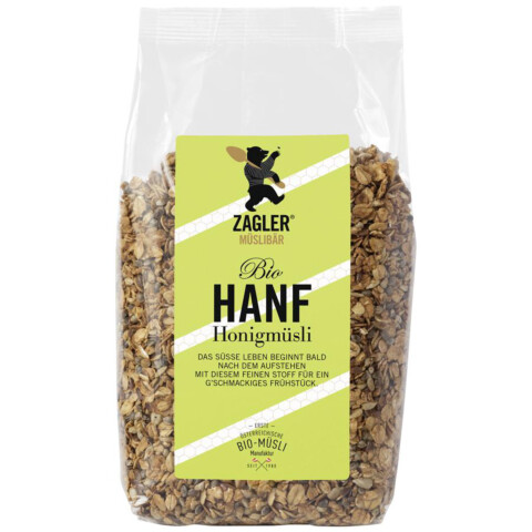 Hanf-Honigmüsli