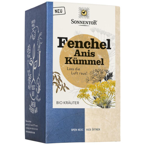 Fenchel Anis Kümmel Teebeutel