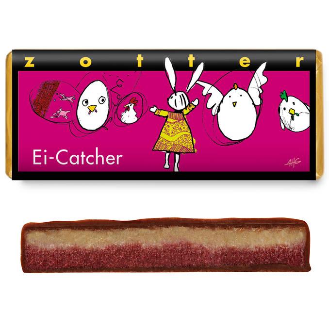 Ei-Catcher - Himbeer-Kokos Schokolade