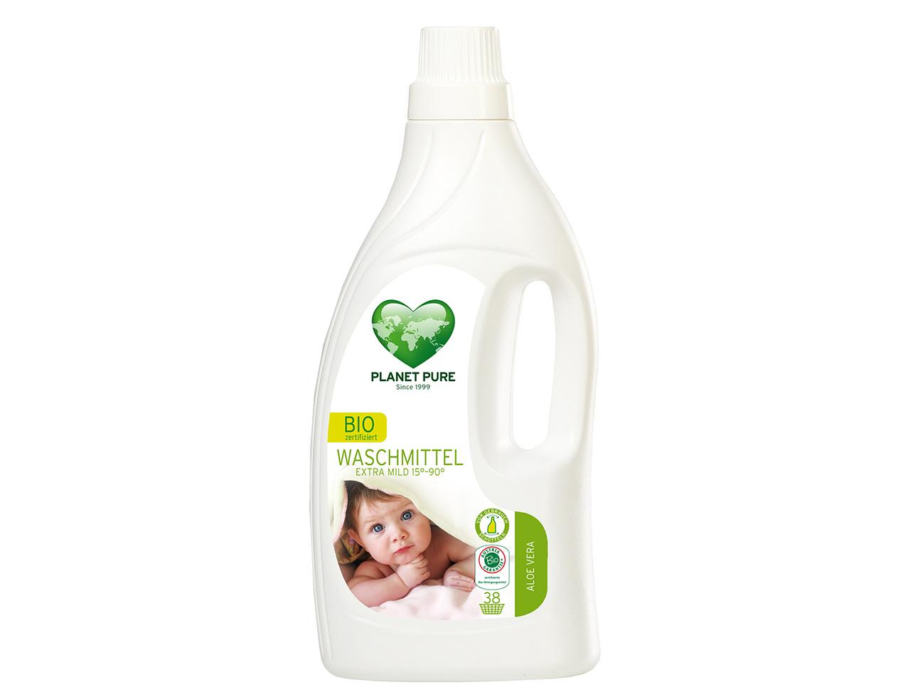 Bio Waschmittel Aloe Vera