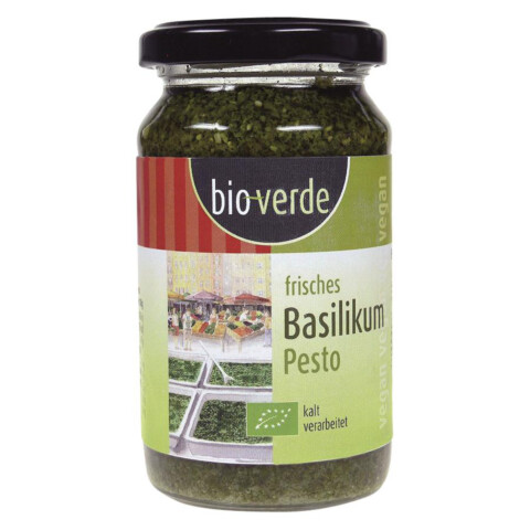 Pesto Basilikum (BioVerde)